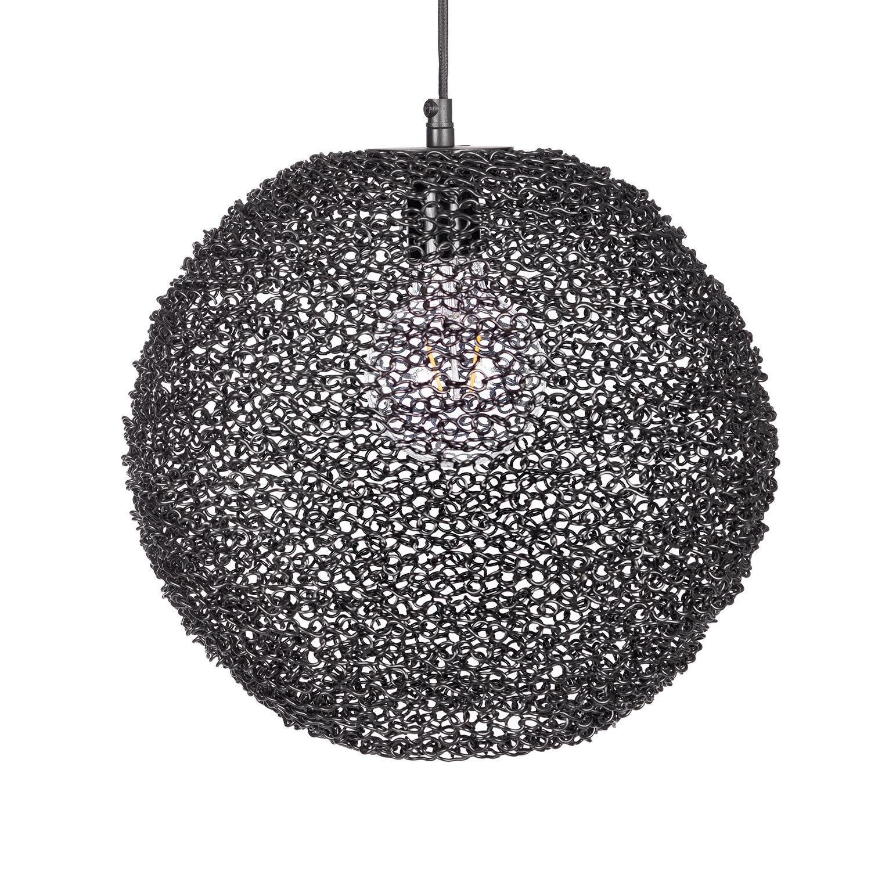 Spinner hanglamp Bodilson zwart
