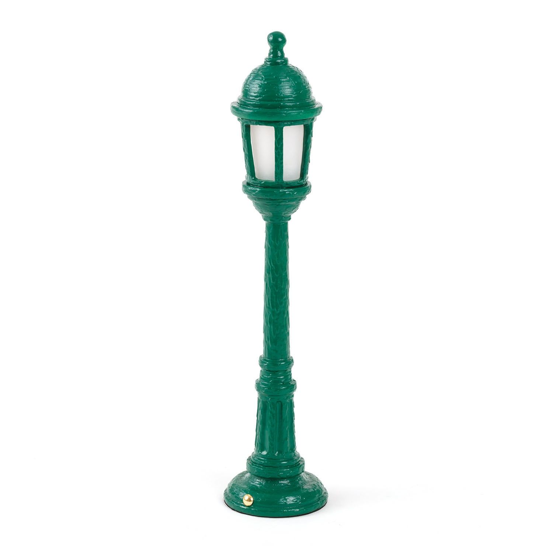 Street Lamp tafellamp Seletti groen