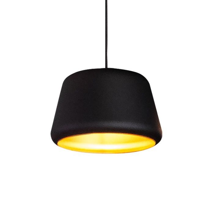 Tommy hanglamp Hala Ø27 zwart - goud