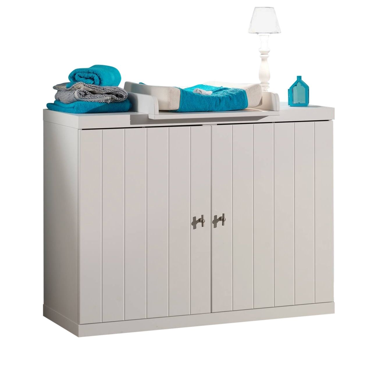 Robin commode Vipack - wit