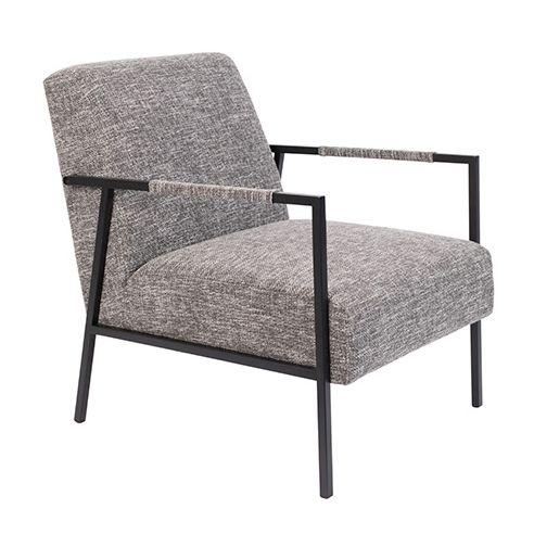 Wakasan fauteuil Luzo grijs