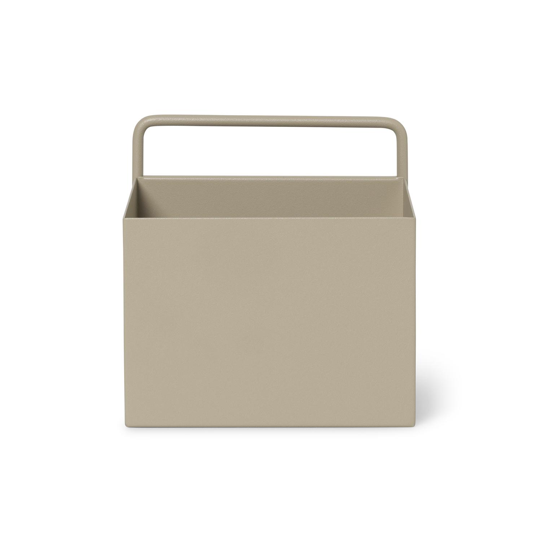 Wall Box plantenbak Ferm Living vierkant cashmere