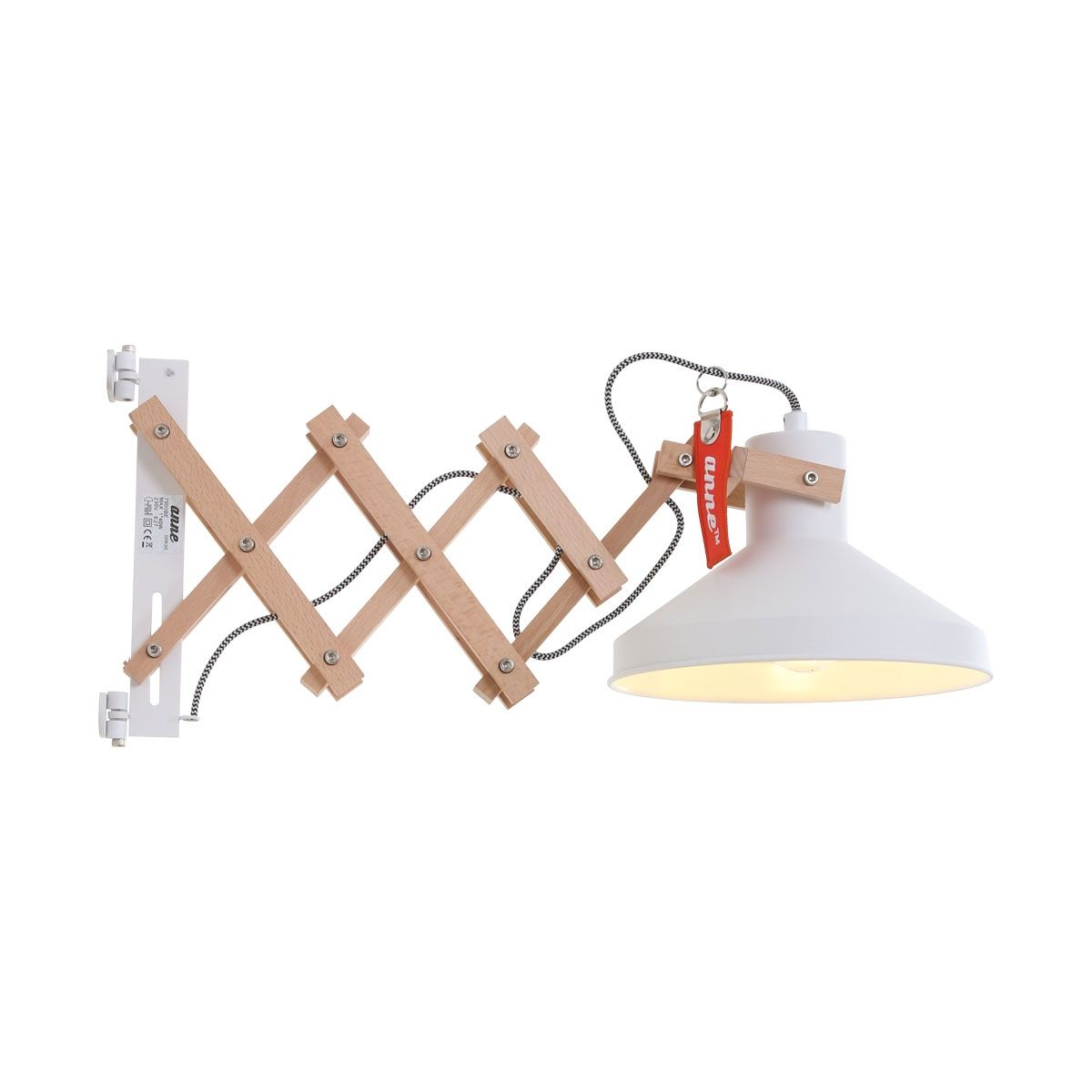Woody wandlamp Anne Lighting