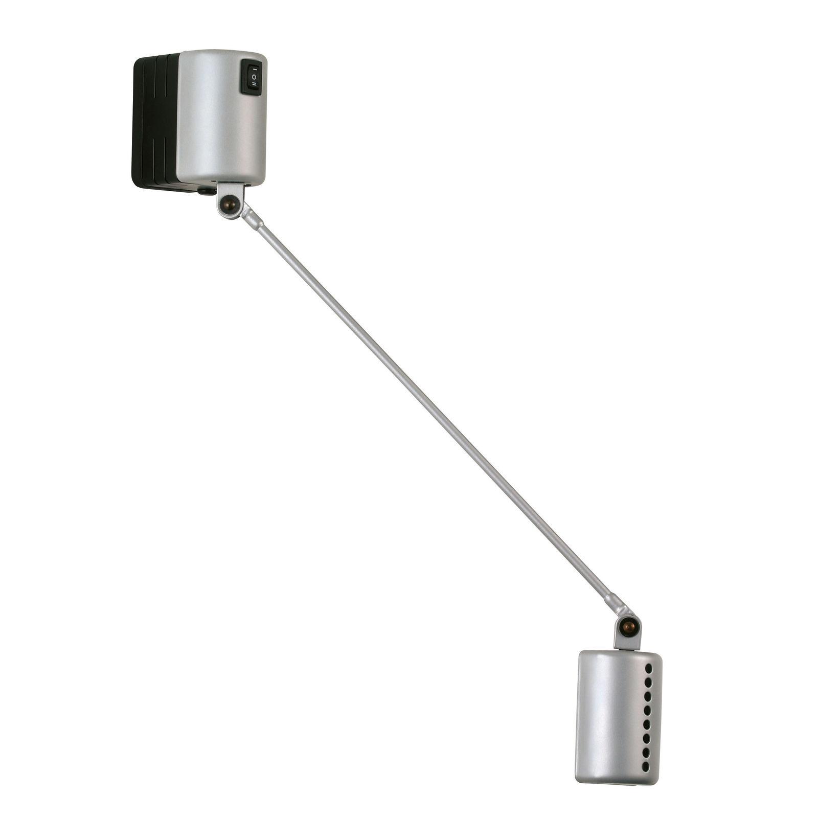 Daphine Parete 20 wandlamp Lumina metallic zilver