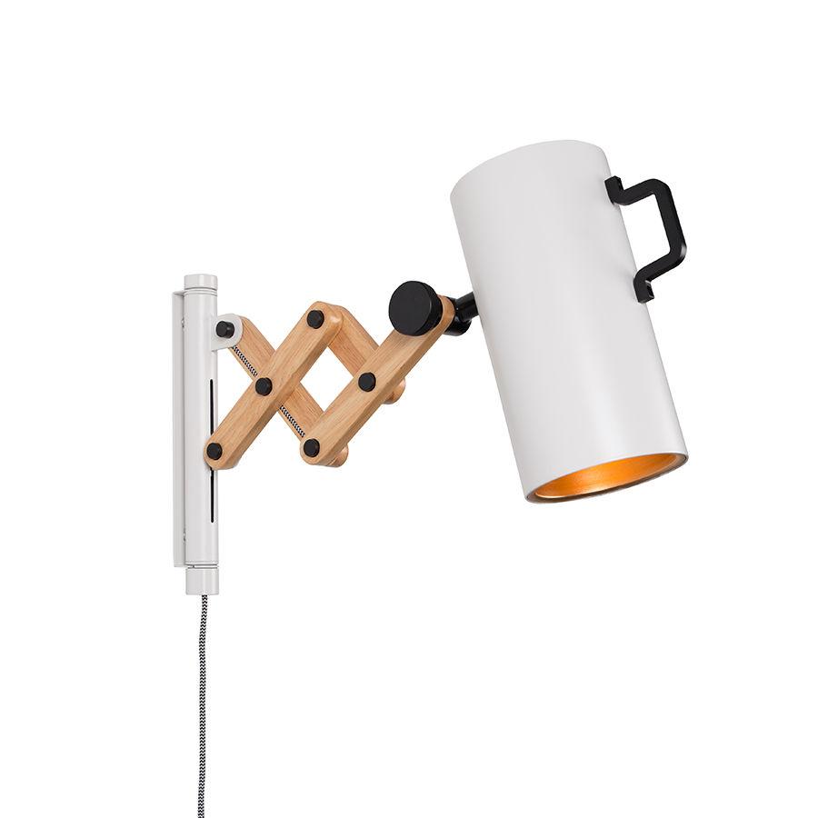 Flex wandlamp Zuiver wit