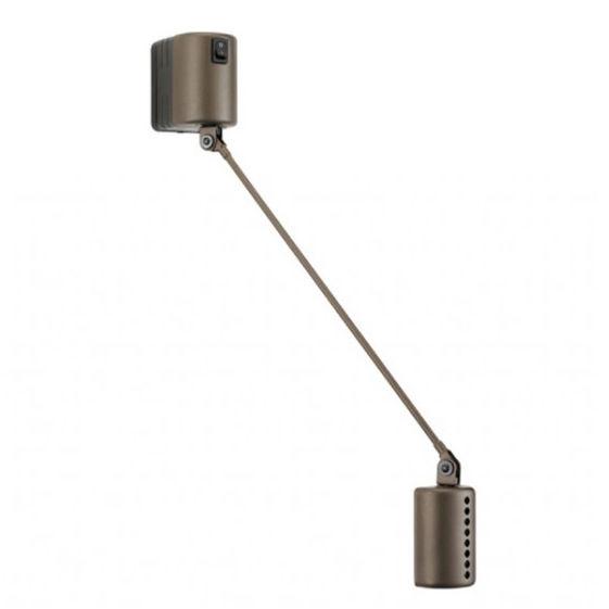 Daphine Parete 35 wandlamp Lumina LED brons