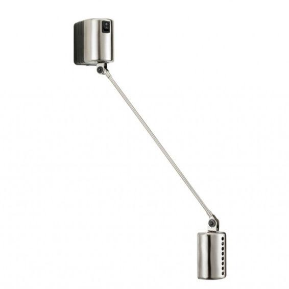 Daphine Parete 35 wandlamp Lumina LED nikkel