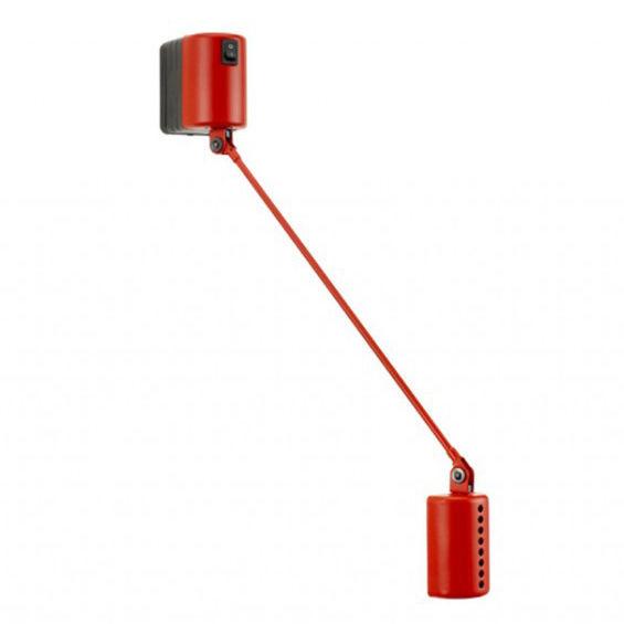 Daphine Parete 35 wandlamp Lumina LED rood
