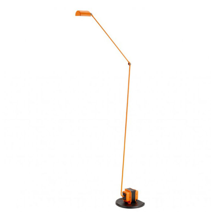 Daphine Terra vloerlamp Lumina LED oranje