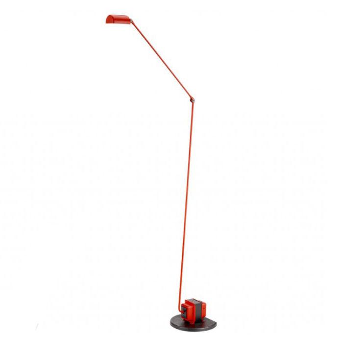 Daphine Terra vloerlamp Lumina LED rood