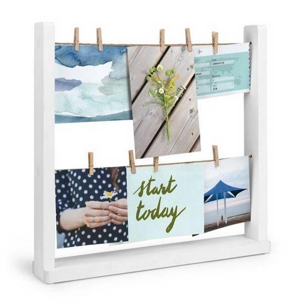 Hangit Desk foto frame Umbra wit