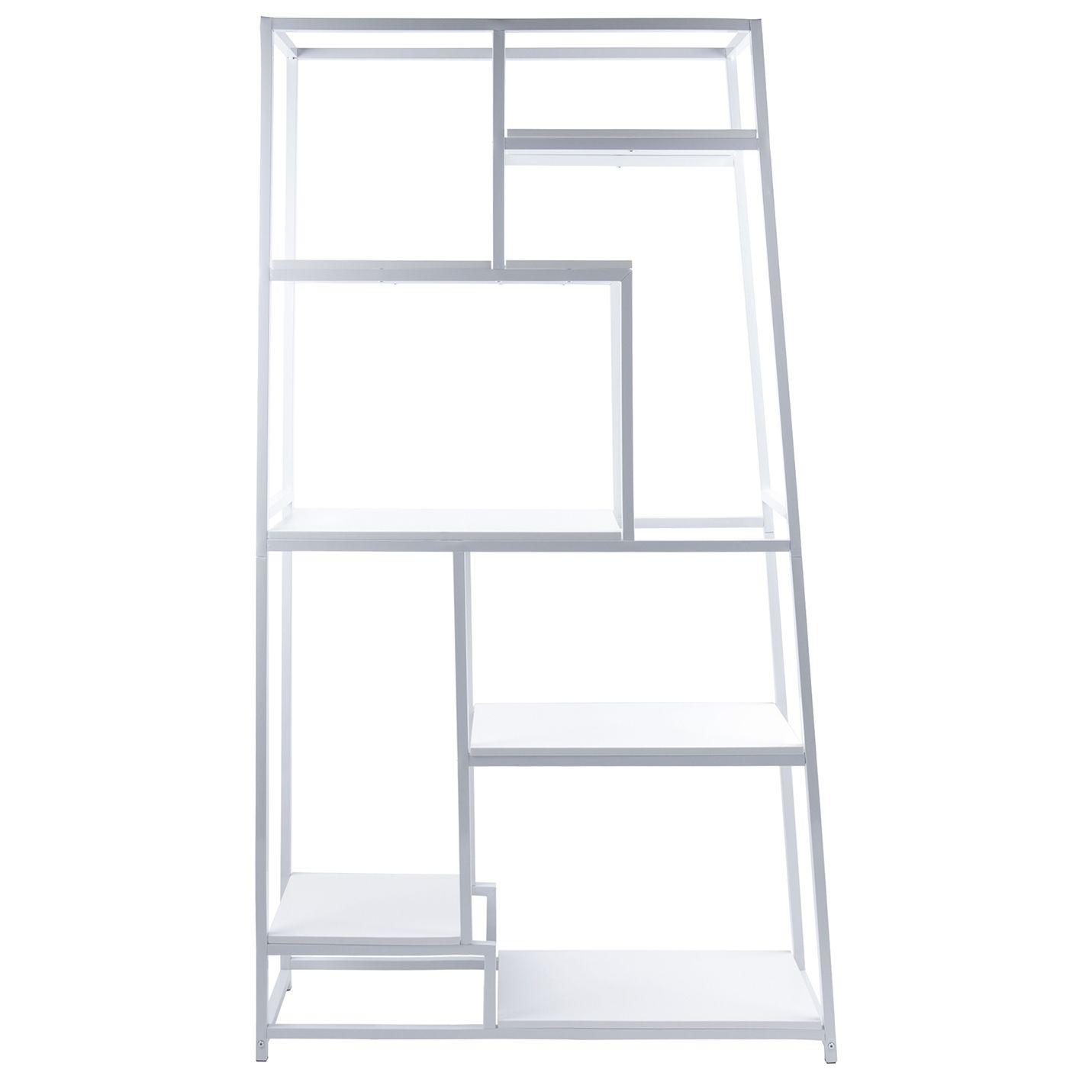 Fushion boekenkast Leitmotiv wit