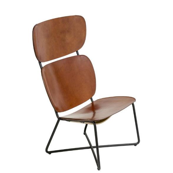 Miller High fauteuil Functionals - cognac