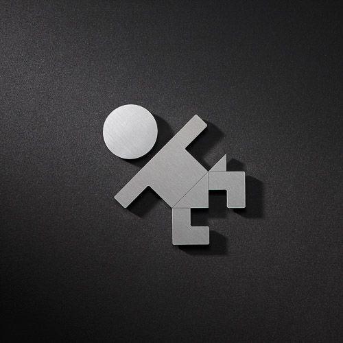 Baby verschoon ruimte pictogram Phos Design