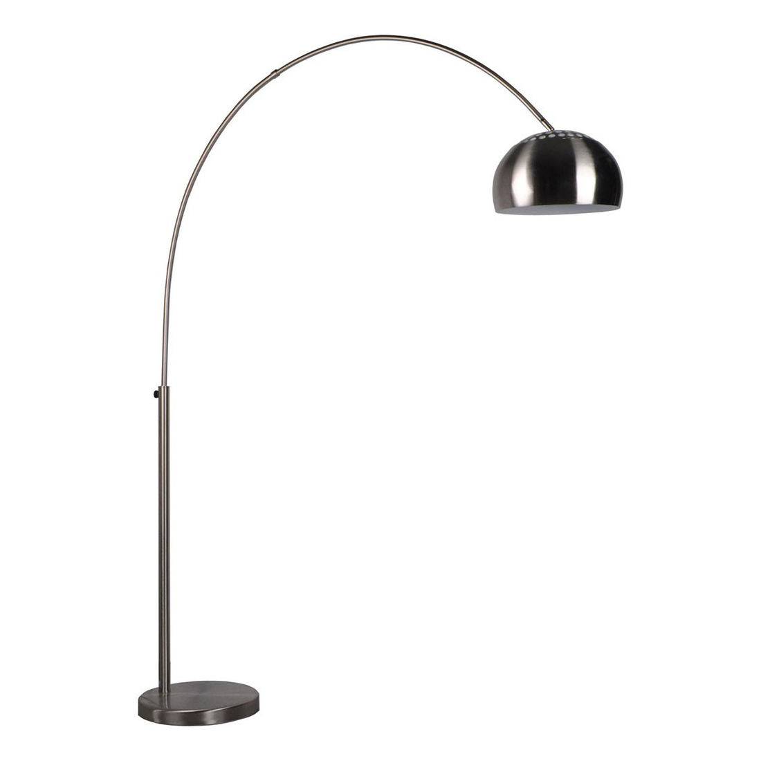 Big Bow vloerlamp Luzo rvs
