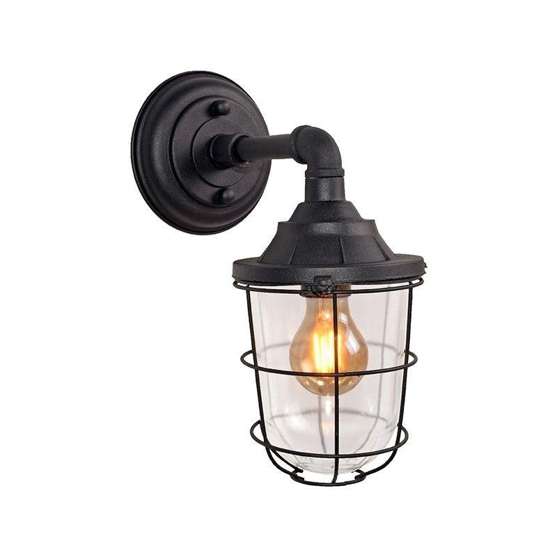 Seal wandlamp Label51 zwart