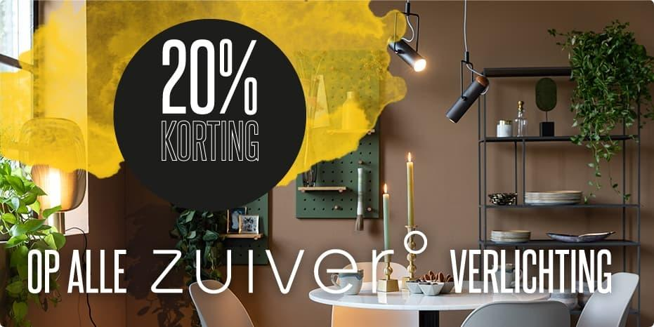 Musthaves.nl | 20% korting op Zuiver verlichting