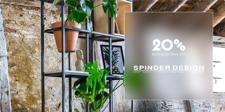 Musthaves.nl | 20% korting op Spinder Design