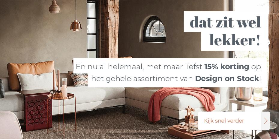 Musthaves.nl | 15% korting op alles van Design on Stock!