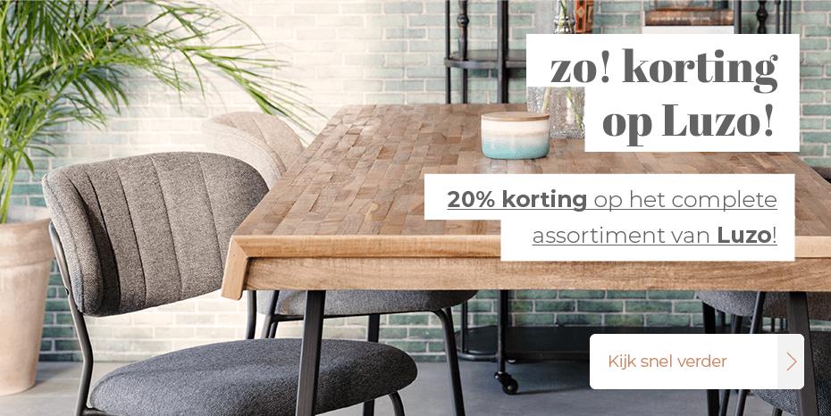 Musthaves.nl | 20% korting op de complete collectie van Luzo!