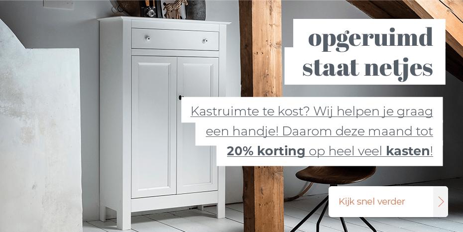 Musthaves.nl | Opgeruimd staat netjes met maar liefst 20% korting!