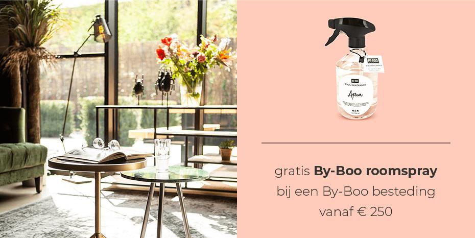 Musthaves.nl | Gratis By-Boo Roomspray bij besteding vanaf € 250,-!