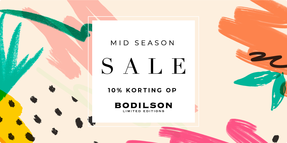 Musthaves.nl | 10% korting op Bodilson tijdens de Mid Season Sale!