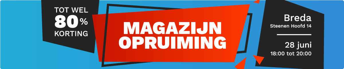 Musthaves.nl | Kom op 28 juni naar de Magazijn Opruiming