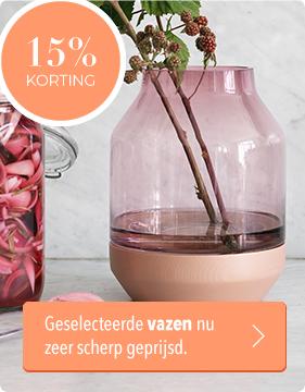 Musthaves.nl | 15% korting op heel veel vazen!