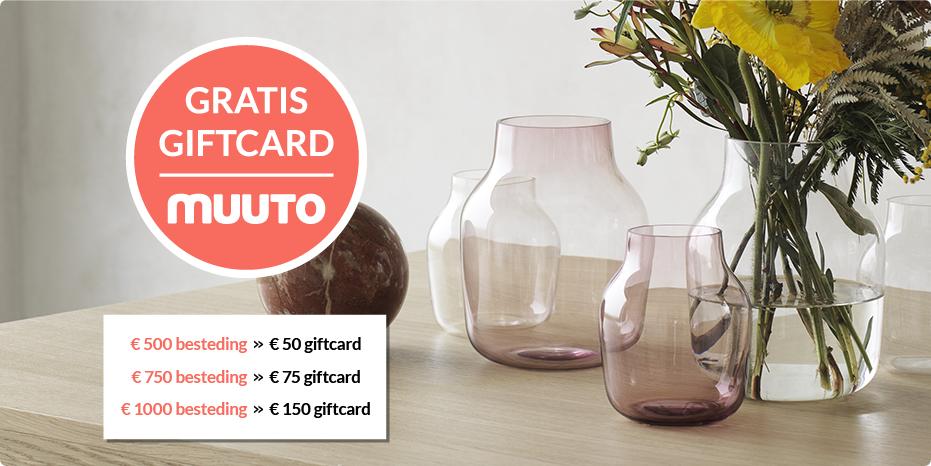 Musthaves.nl | Gratis giftcard bij Muuto!