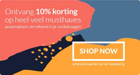 Musthaves | Ontvang direct 10% korting in je winkelwagen op heel veel musthaves.