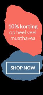 Musthaves.nl | Ontvang direct 10% korting in je winkelwagen op heel veel musthaves.
