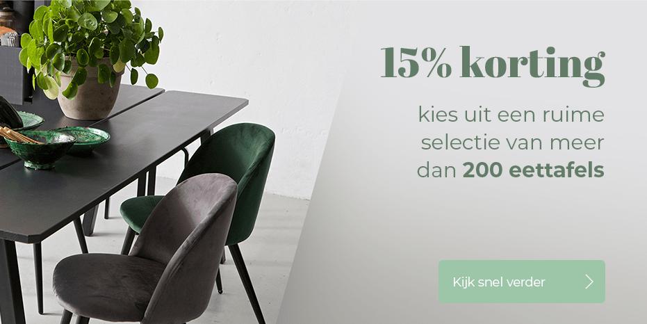 Musthaves.nl | 15% korting op de mooiste eettafels!