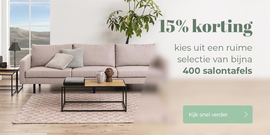 Musthaves.nl | 15% korting op bijna 400 salontafels!