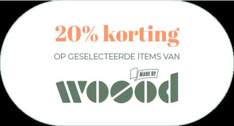 Musthaves.nl | 20% korting op geselecteerde items van WOOOD!