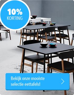 Musthaves.nl | 10% korting op verschillende eettafels.