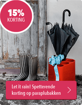 Musthaves.nl | 15% korting op alle paraplubakken