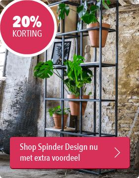 Musthaves.nl | 20% korting op alles van Spinder Design